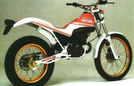 MONTESA COTA 309 RUBBER INTAKE AIR BOX NEW imágenes
