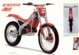 MONTESA COTA 311 THROTTLE NEW AMAL imágenes
