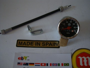 MONTESA COTA  SPEEDOMETER KIT PARTS MONTESA COTA SPEEDO KIT PARTS  montesa cota 74-123-172-247-242-330-248-348-349-350. imágenes