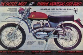 MONTESA TEXAS NEW EXHAUST MUFFLER MONTESA SCORPION imágenes