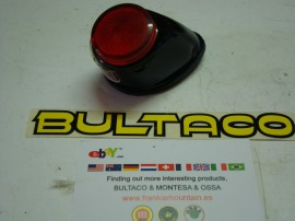 BULTACO SHERPA TAILLIGHT NEW EARLY MODEL 27-49-80-91-92-150-151-159 imágenes