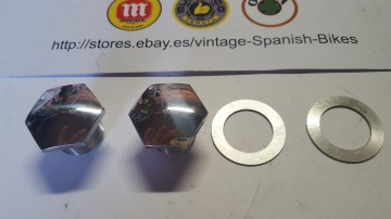 MONTESA COTA 25 FORK NUTS ( PAIR ) MONTESA COTA 25 FOR NUTS NEW imágenes