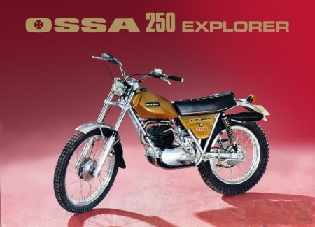 NEW OSSA EXPLORER KIT CABLES CLUTCH FRONT BRAKE AND THROTTLE imágenes