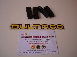 BULTACO ANTIVIBRATION CYLINDER KIT SILENBLOCK NEW ALL BULTACO'S 4 UNITS imágenes