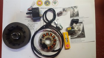 BULTACO ALPINA ELECTRONIC IGNITION 12v KIT PARTS NEW imágenes