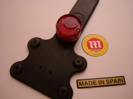 MONTESA COTA 172 NEW TAILLIGHT LICENSE SUPPORT imágenes