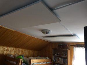 Panouri radiante Ecosun instalate pe tavan