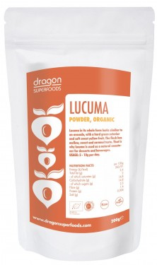 Poze Lucuma pulbere organica raw Dragon Superfoods 200g
