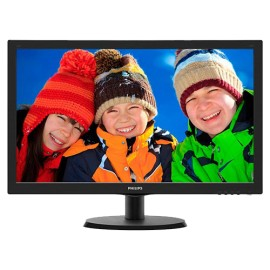 "Slika Monitor 23.6"" PHILIPS 243V5LHSB/00, LED, 16:9, FHD, 1 ms, VGA, DVI-D, HDMI"