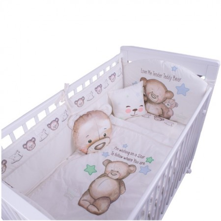 Slika Posteljina My Baby Teddy Bear set 8/1