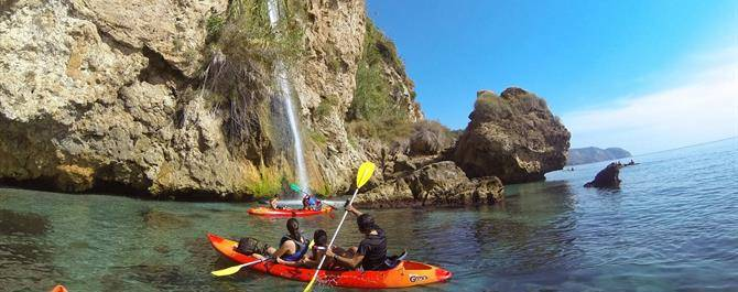 excursiones maro cerro gordo en kayak