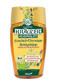 Kräuter köhögés elleni szirup 250 ml BIO mézzel, édesköménnyel és kakukkfűvel kép