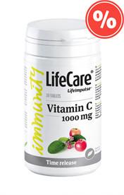 C-vitamin, 1000 mg - hosszú felszívódás