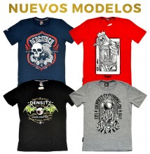 8 playeras Density para caballero - ORIGINAL