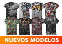 8 playeras Density sublimadas para caballero - ORIGINAL