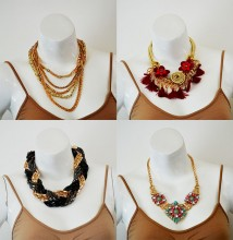 50 Collares Fashion Jewelry - ORIGINAL