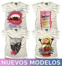 8 playeras Density para dama - ORIGINAL