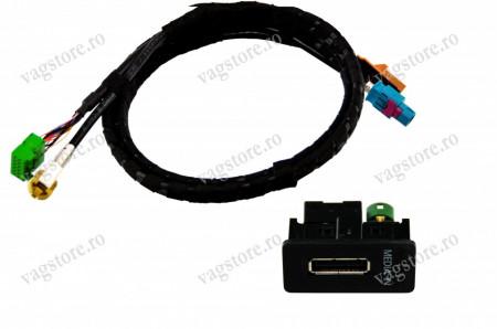 Interfata MDI Media In USB ORIGINALA VW Golf MK7 / Passat B8