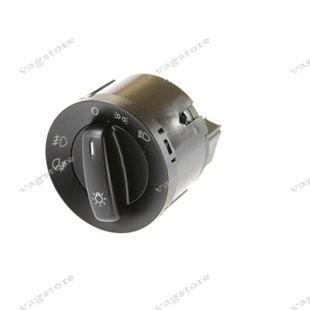 Comutator Bloc buton Lumini culoare Negru cu Proiectoare VW Golf Passat CC Jetta Touran