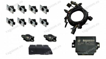Kit Retrofit Original Senzori parcare Audi Parking System Fata Spate AUDI Q3 8U cu modul 8X0919475AH