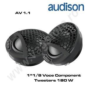 SET TWEETERE AUTO AUDISON AV 1.1, SET 28MM