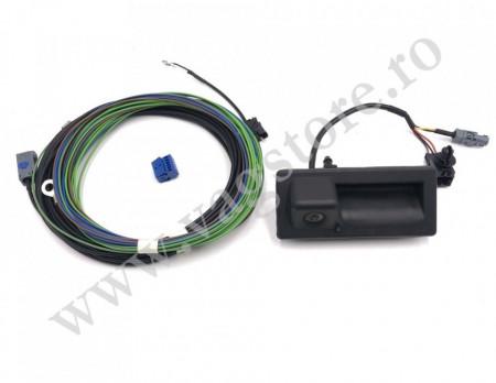 Kit complet retrofit Camera Marsarier in maner portbagaj VW Lowline OEM VW cu unitate MIB2 sau RCD330