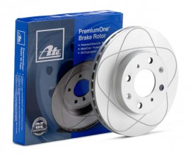 Set 2 discuri spate ATE POWER DISC VW Golf Jetta Touran Tiguan