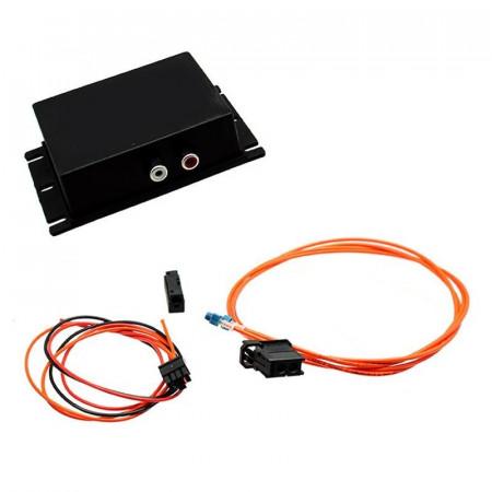 Interfata auxliar cu mufa stereo RCA pentru AUDI MMI 2G A4 A6 Q7