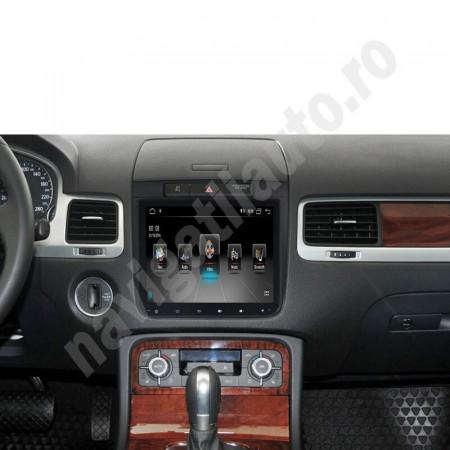 Navigatie VAGTECH R650 PRO VW display 8 inch cu Android, Touchscreen, Bluetooth WIFI pentru Touareg 7P 2010 - 2015 CU RCD550