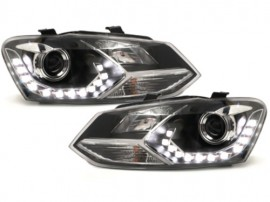 Set faruri Lupa si led Xenon VW Polo 6R