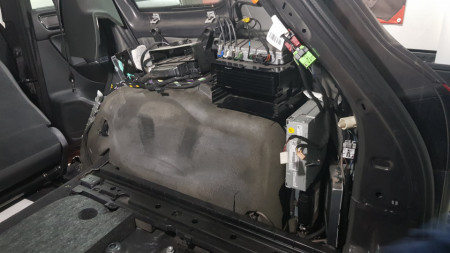 Sound sistem upgrade pentru VW Touareg 7P 2011 - 2018