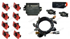 Kit retrofit Original VW Senzori Parcare Touareg 7 2011 - 2014