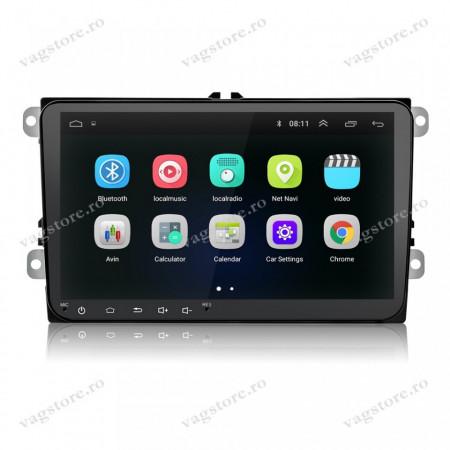 Navigatie VAG NAV 5000 PRO display 9 inch cu Android, Touchscreen, Bluetooth si WIFI pentru VW Skoda Seat
