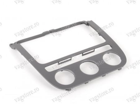 Rama Bord Radio CD-Player Climatronic Aluminium Brushed