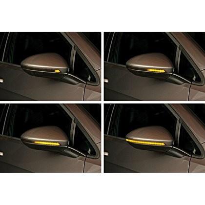 Set Retrofit Lumini secventiale semnalizare oglinzi VW Golf 7 / Touran II