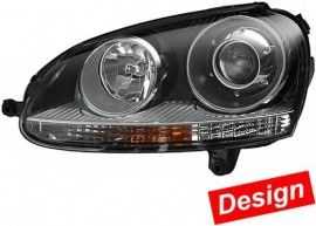 Far Dreapta cu Lupa Golf 5 Jetta Mk5 Versiune GTI