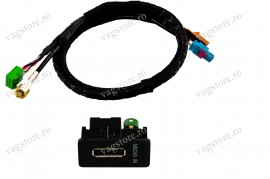 Kit retrofit Interfata Originala MEDIA - IN MDI 5G0035222A- Skoda Octavia 5E + Adaptor USB