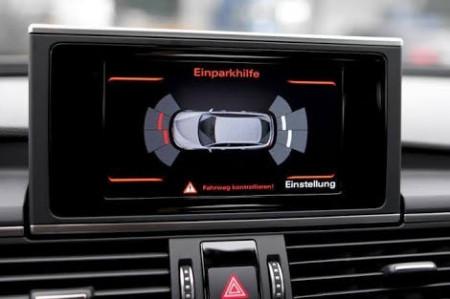 Kit Retrofit Original Senzori parcare Audi Parking System Fata Spate AUDI A7 4G0 cu buton 4G0927137E