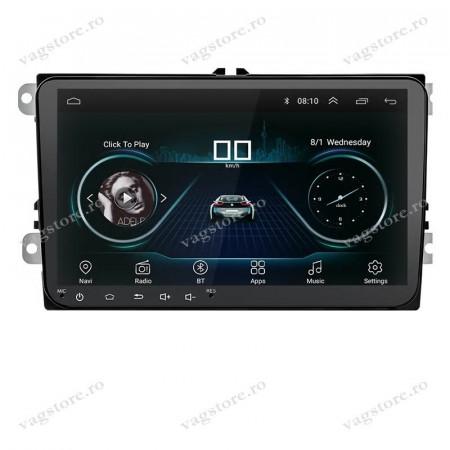 Navigatie dedicata VAG NAV 5000 PRO display 9 inch cu Android, Touchscreen, Bluetooth si WIFI pentru VW Jetta MK5 MK6 Touran Tiguan