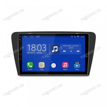 Navigatie VAG NAV 9000 PRO display 9 inch cu Android, 2GB Ram, Touchscreen, Bluetooth si WIFI pentru Skoda Octavia 3 2013 - present