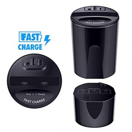 Incarcator auto Wireless Fast Charge VAGTECH
