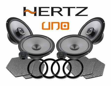 Pachetul dedifuzoare auto Hertz Uno este compatibil VW Golf Jetta MK5 MK6