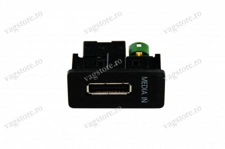 Kit retrofit Interfata Originala MEDIA - IN MDI 5G0035222A- Skoda Octavia 5E + Adaptor USB