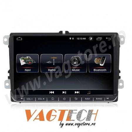 Navigatie Android 10 2Gb RAM memorie interna 32Gb WIFI USB GPS pentru VW CC Touran Tiguan Sharan