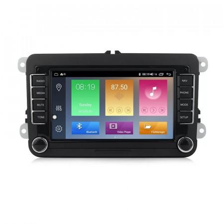 Navigatie NAVPRO N510 Android 9.0 2Gb RAM memorie interna 32Gb WIFI USB GPS pentru VW Passat Golf
