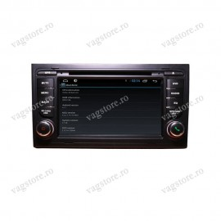 Navigatie VAG NAV 6500 PRO pentru Audi A4 2002 - 2008 inch cu Android, Touchscreen, Bluetooth si WIFI
