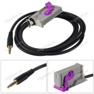 Cablu audio auxiliar Jack 3.5mm pentru RNS-E