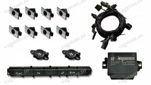 Kit Retrofit Original Senzori parcare Audi Parking System Fata Spate AUDI A6 4G0 cu buton 4G0927137H