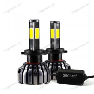 Set 2 Becuri LED Canbus HB4