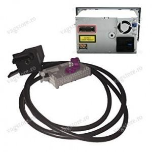 Cablu audio auxiliar cu conector Jack 3.5mm tip buton pentru RNS-E